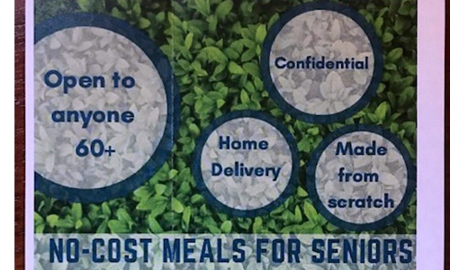 No-Cost Meals for Seniors