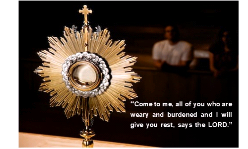 Coming Nov 29 - Extended Adoration Hours