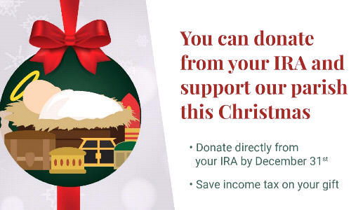 You Can Donate from Your IRA
