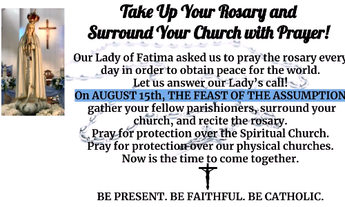 Pray the Rosary - August 15