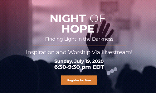 Night of Hope: July 19 ~ For Adults